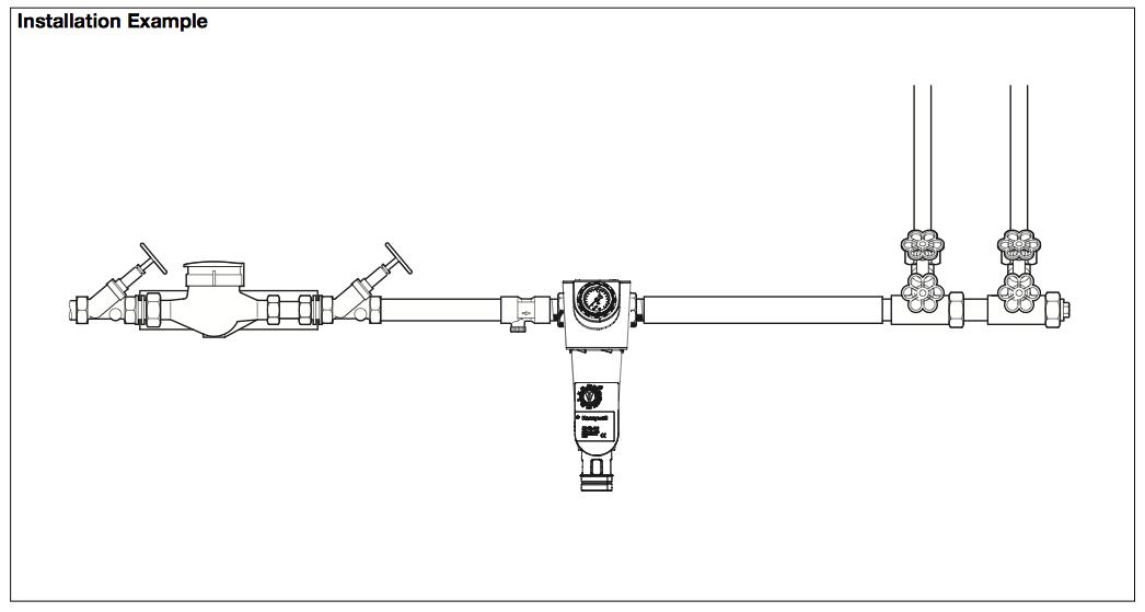 "Mehāniskais ūdens filtrs F74CS, 1"" caurulei"