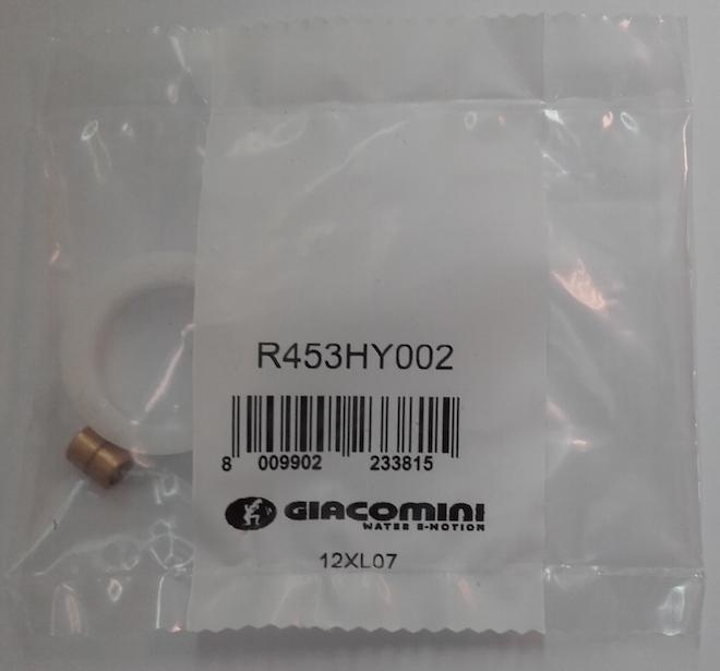 Adapteris Giacomini vārstiem R453HY002, derīgs HR92, HR91, MT4.