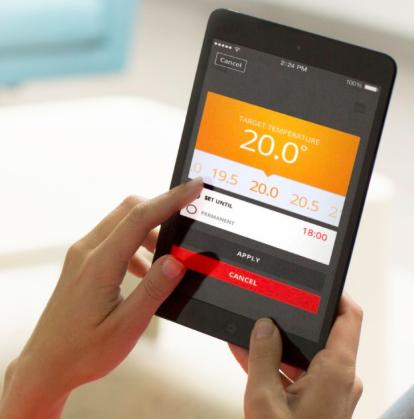 Y87RFC2032  Самый простой способ регулировать температуру с вашего смартфона.