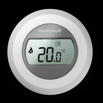 T87RF2025 bezvadu istabas temperatūras regulators (siltai grīdai var likt arī papildus radiatora regulatoram)