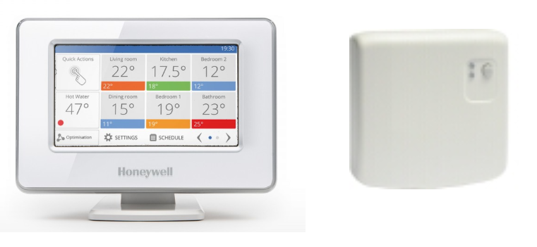 ATP921R3100 wi-fi evohome katla termostats, komplekts (ATC928G3000 +ATF800 + BDR91)