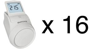 HR92X16 radiatoru regulatori paka kopā 16 gab. (termoregulators)